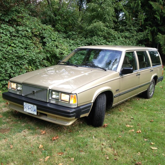 on 1987 Volvo 740 Gle Motor
