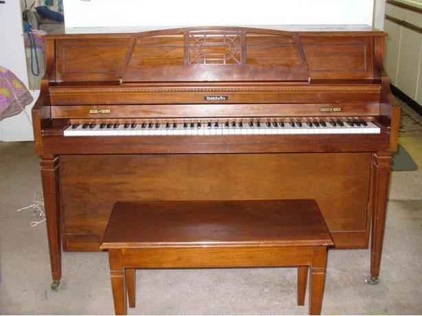 Baldwin upright piano saanich victoria for Yamaha piano store winnipeg