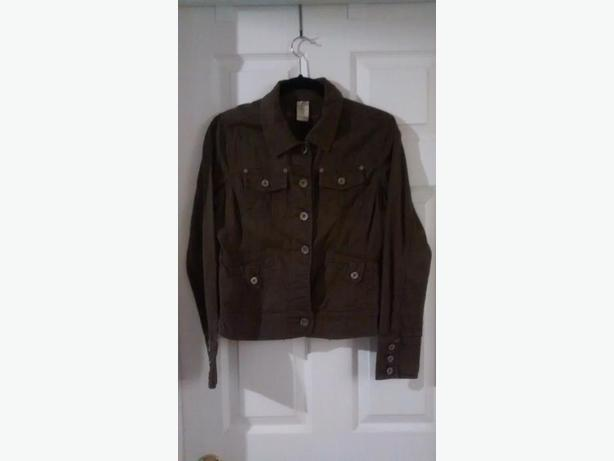 Ladies Dark Brown Point Zero Jacket - Size Medium