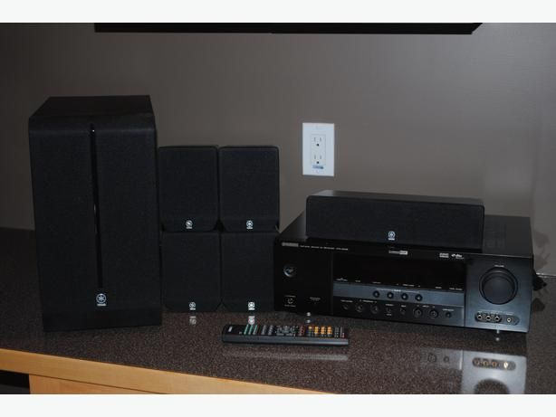 Yamaha surround sound system nanoose bay nanaimo for Yamaha surround system review
