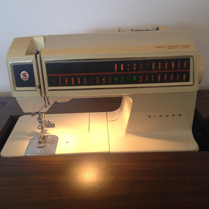singer touch tronic 2001 memory machine