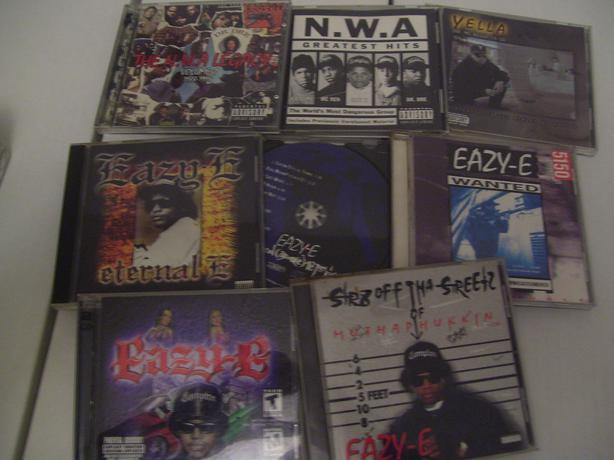 N W A Amp Eazy E Hip Hop Rap Cd Collection Esquimalt Amp View