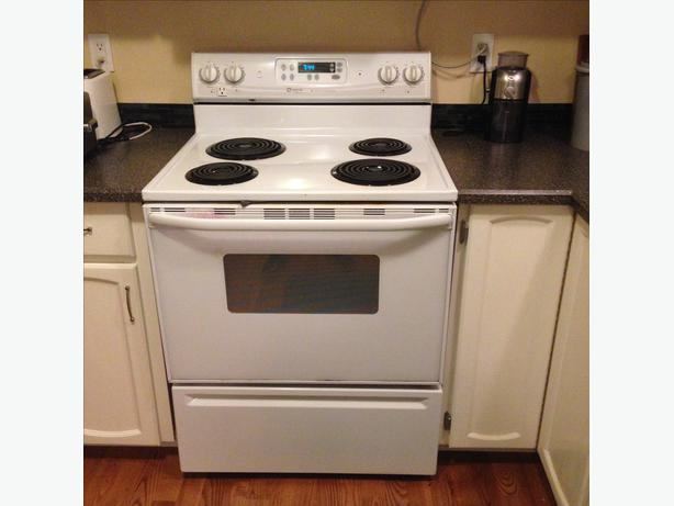 Maytag Performa Electric 30in Range White Saanich Victoria