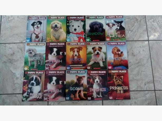 15 Puppy Place Books by Ellen Miles