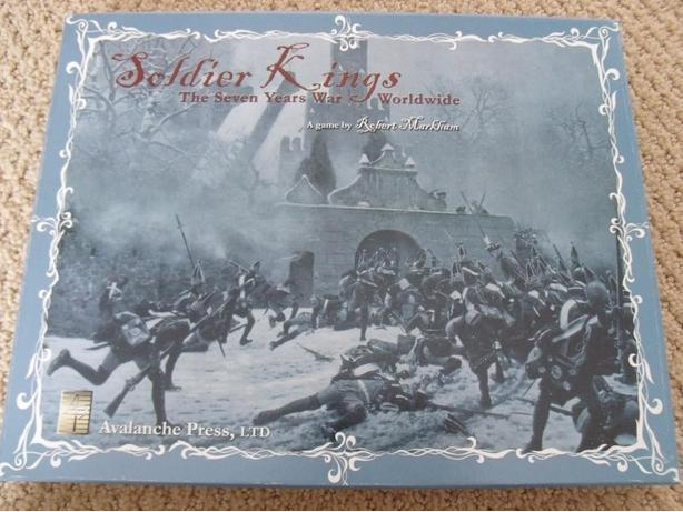 Soldier Kings Simulation Board Game Complete