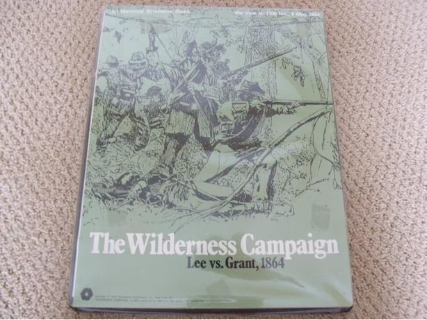 The Wilderness Campaign Lee vs Grant 1864 SPI Complete