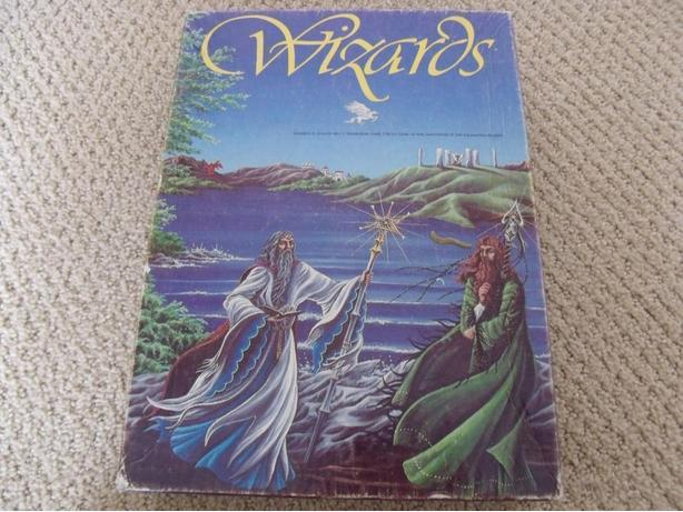 Wizards Simulation Board Game Avalon Hill Complete