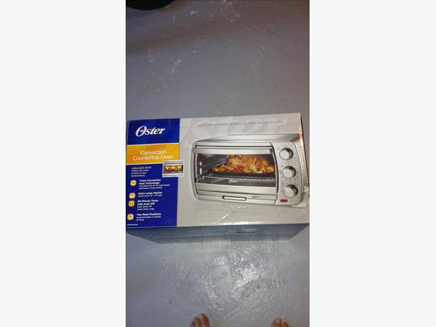 countertop convection oven brand new never been used oster countertop ...