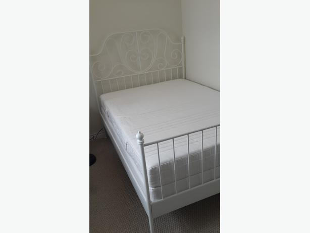 Ikea Bed Set With High Standard Mattress Nepean Gatineau