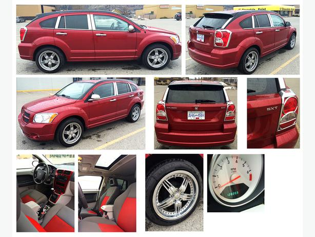 2007 dodge caliber sxt fully loaded vernon kelowna mobile. Black Bedroom Furniture Sets. Home Design Ideas