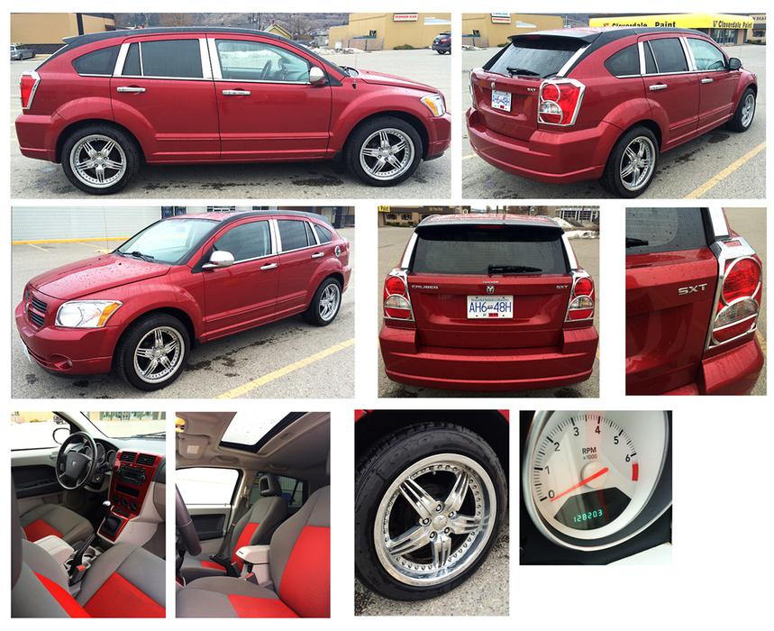 2007 Dodge Caliber Sxt Fully Loaded Vernon Okanagan Mobile
