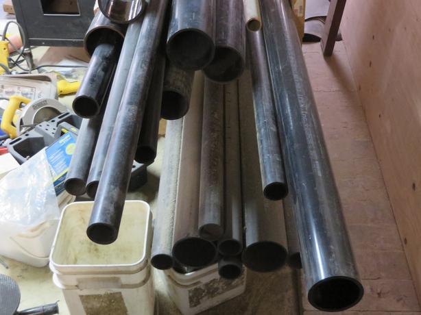 Cast iron no hub pipe quot dia new oak bay victoria