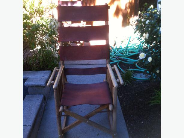 Leather Rocking chairs from Costa Rica Victoria City, Victoria