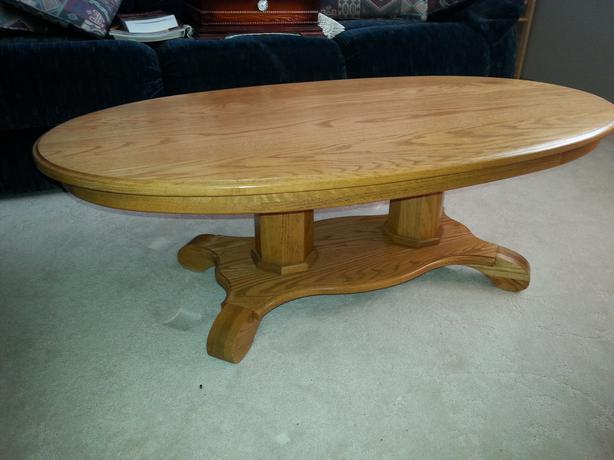 Coffee table and end table central regina regina Matching coffee table and end tables
