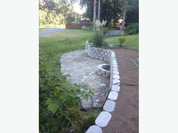 Landscaping block moulds