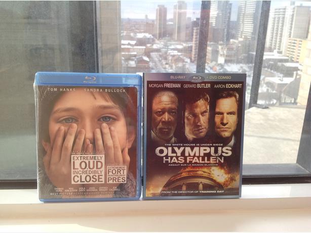Brand New Unopened blu-ray Movies