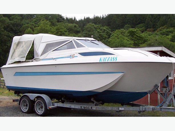 23 Foot Cabin Cruiser Fishing Boat West Shore Langford