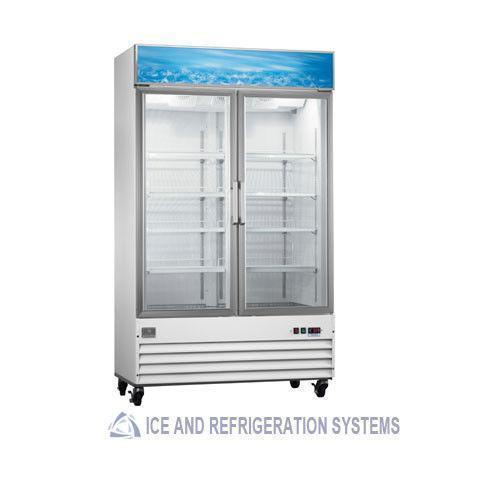 Kelvinator Double Glass Door Freezer Outside North