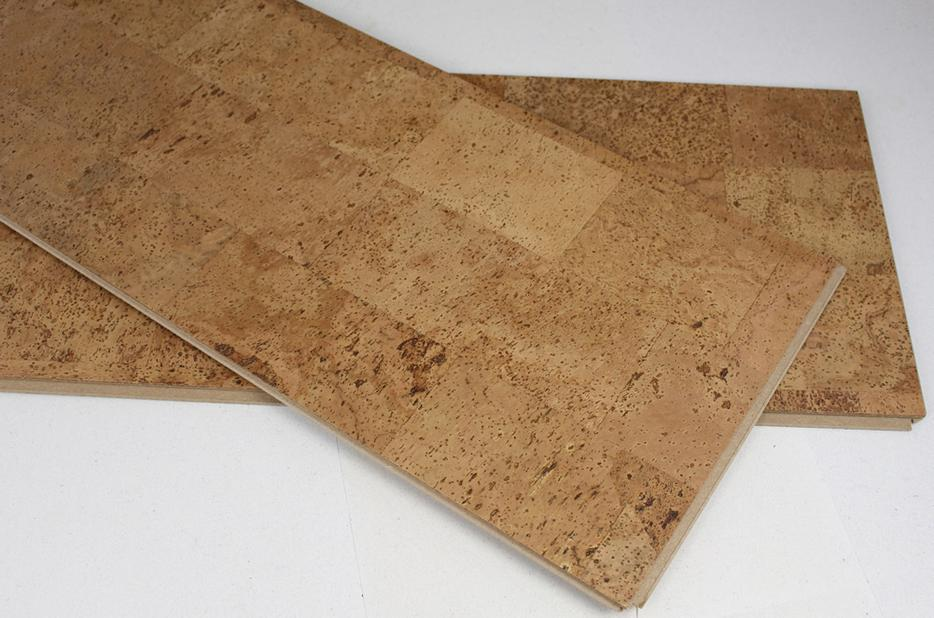 Cork floating floor free shipping vernon for Leather flooring cost