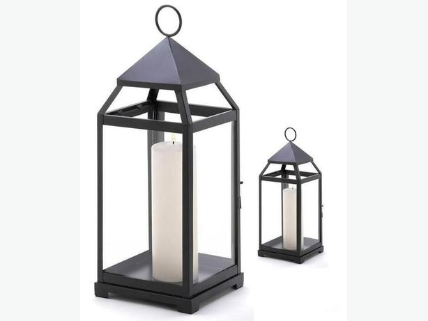 Matching Indoor Outdoor Candleholder Lantern Lamp Centerpieces 2 Sizes