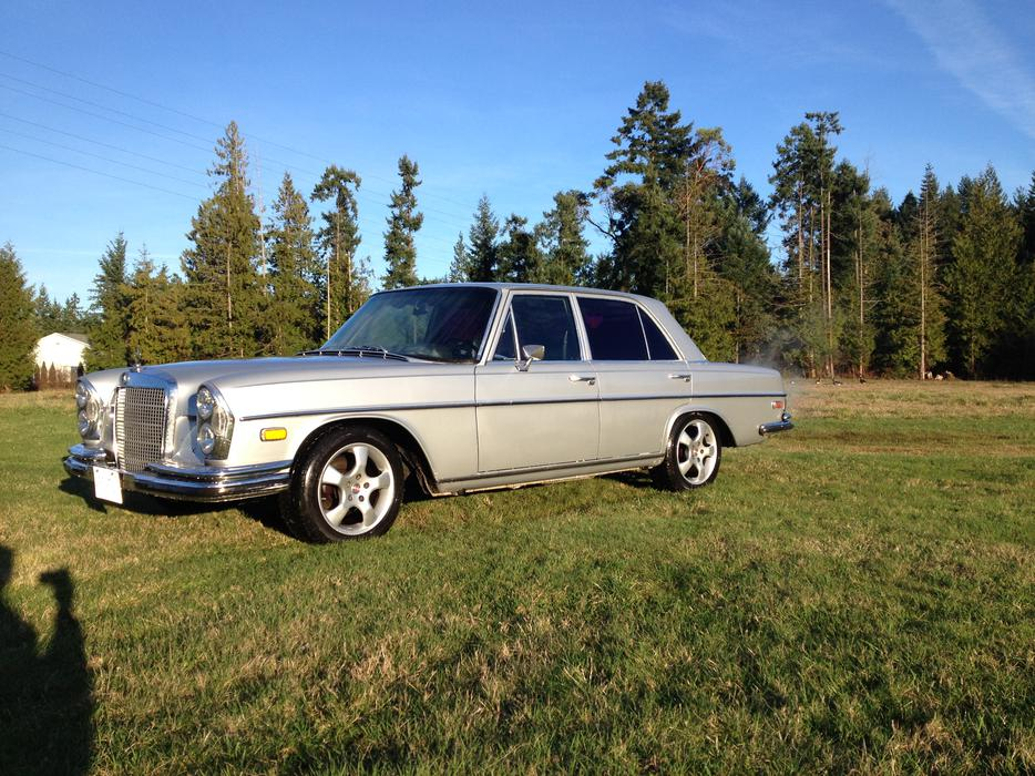For trade 1969 mercedes benz 280se parksville nanaimo for Mercedes benz bay ridge