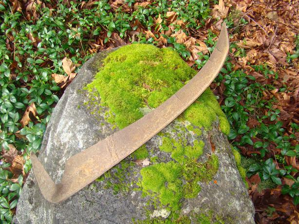 Free Four Rusty Garden Tools Without Handles Duncan Cowichan