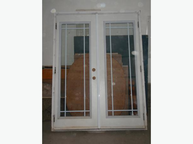 French Exterior Doors Steel: Steel Exterior Double French Doors North Saanich & Sidney