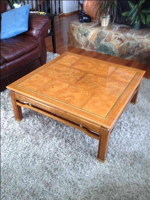 Oak coffee table chemainus cowichan mobile for Coffee tables london ontario