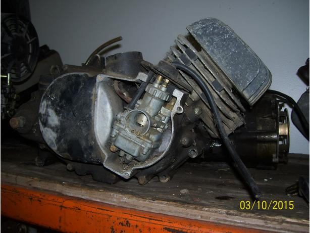 Suzuki TS100 engine carb carburetor