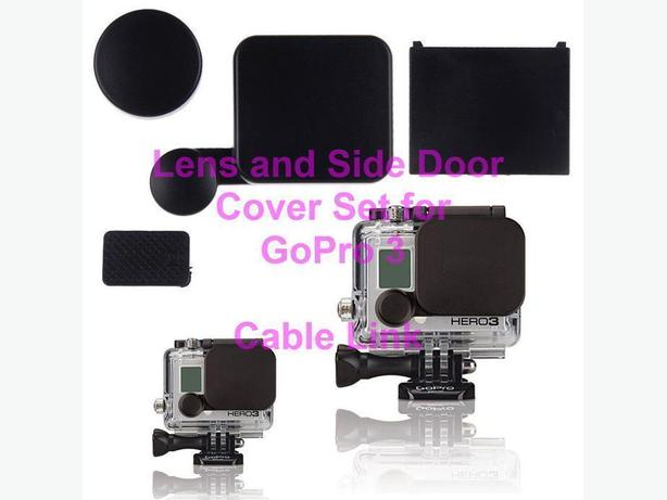Lens and Housing Cap Cover Set for GoPro Hero 3