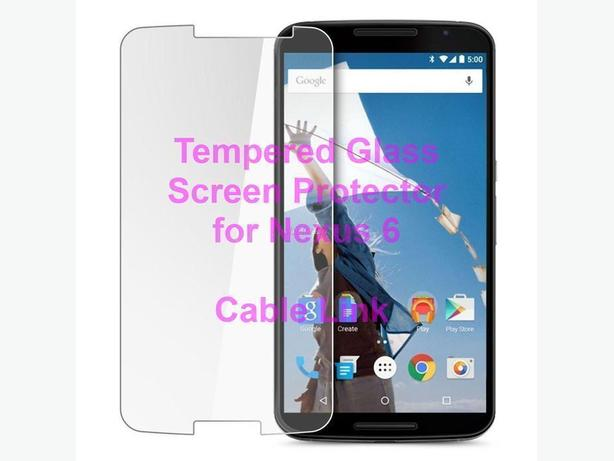 Premium Tempered Glass Screen Protector Google Motorola Nexus 6