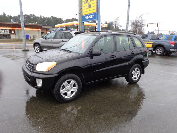 2003 Toyota Rav4 4wd 166 Kms Central Nanaimo Parksville
