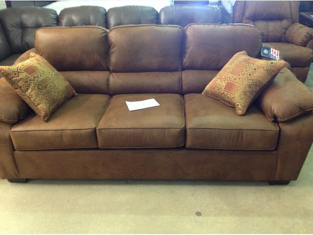 Brand new Laramie sofa...taxes in