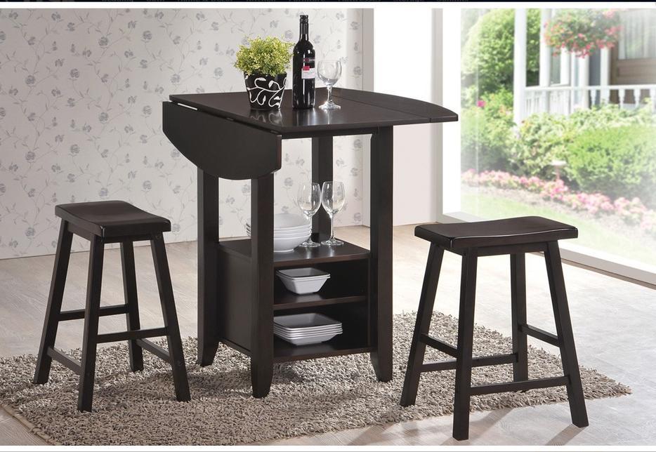 Jysk KOGE Dining Set 4 chairs stools 1 table espresso wood  : 45556301934 from www.usedregina.com size 934 x 644 jpeg 103kB
