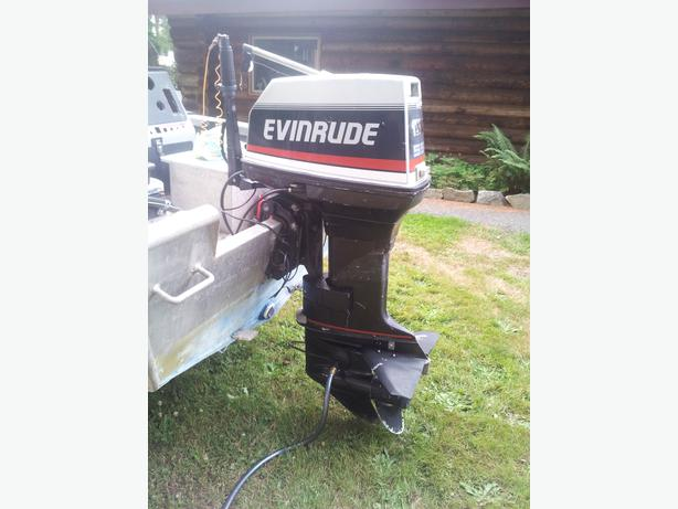 55 Hp Evinrude Outboard Campbell River Courtenay Comox