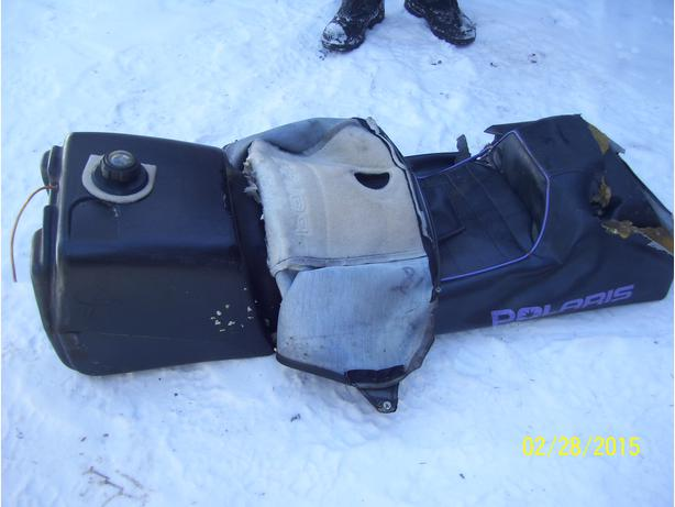 Polaris XLT 580 gas tank fuel tank 1994