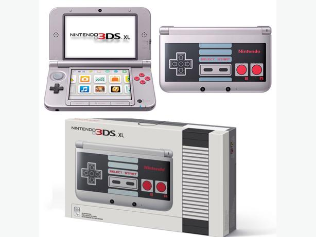 nintendo 3ds xl limited nes edition north nanaimo nanaimo. Black Bedroom Furniture Sets. Home Design Ideas