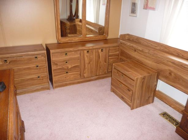 Palliser Furniture Bedroom Set » Palliser Solid Oak 5 Bedroom Set ...