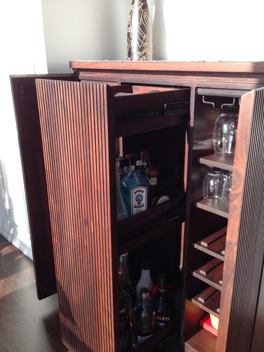 Beautiful Monaco Bar Cabinet from Crate and Barrel Central Ottawa ...