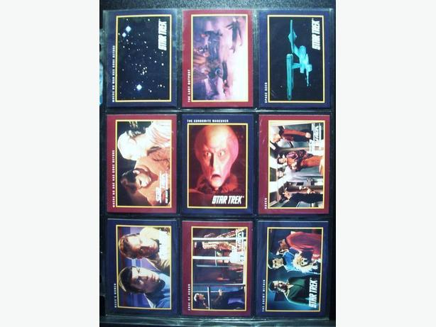 STAR TREK 25th ANNIVERSARY SERIES 1 CARDS - 1991