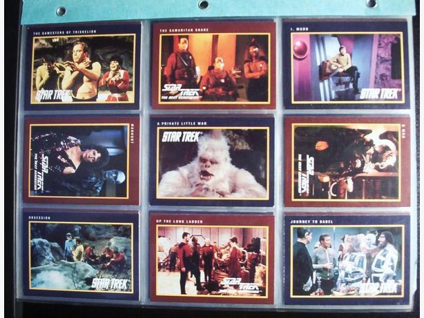 STAR TREK 25th ANNIVERSARY SERIES 2 CARDS (150 Card Set) + MORE