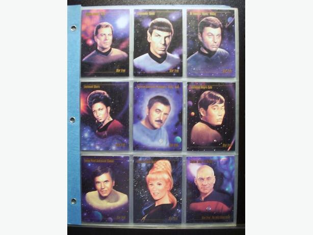 STAR TREK MASTER SERIES CARDS 1993 (90 Card Set)