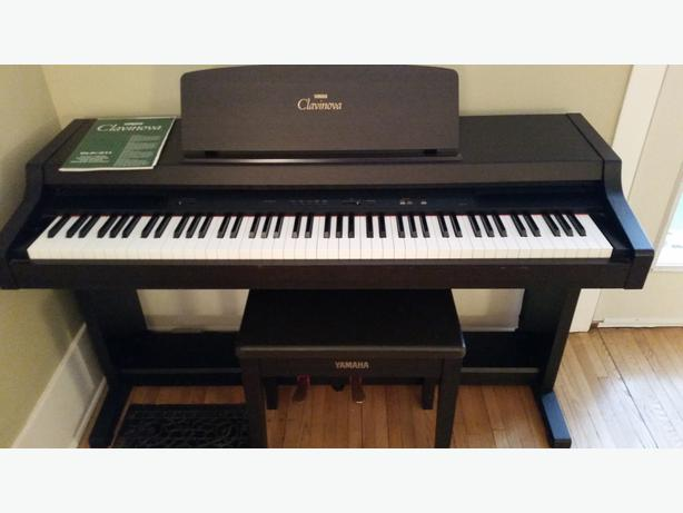Yamaha clavinova clp311 88 key digital piano east regina for Used yamaha clavinova cvp for sale