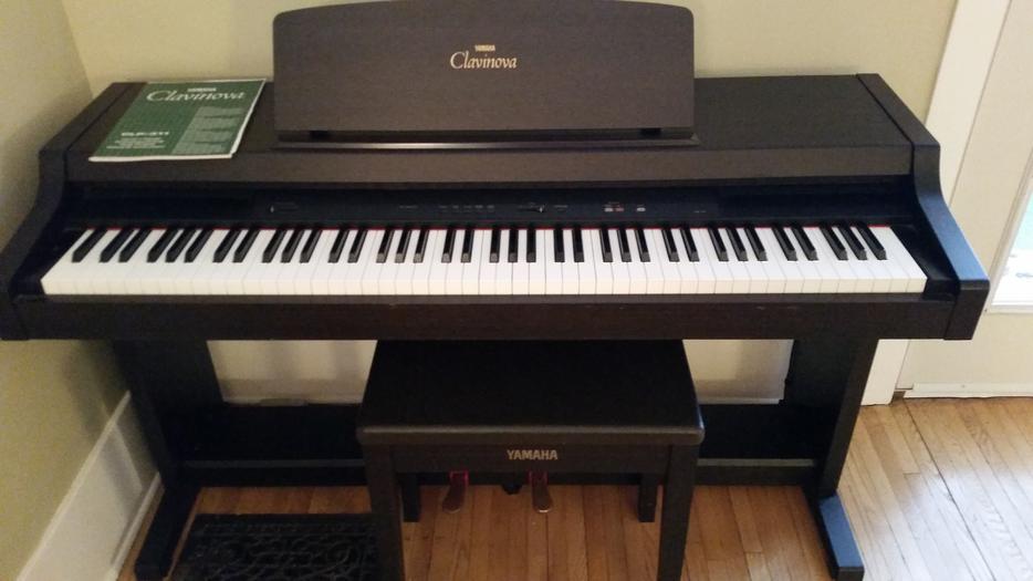 Yamaha clavinova clp311 88 key digital piano east regina for Yamaha piano store winnipeg