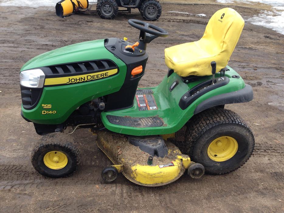 Used John Deere Seat : John deere d garden tractor rural regina
