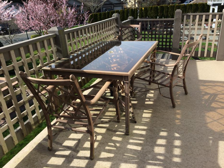 Patio table bc 28 images outdoor dining table room for Yorck wohnideen gbr