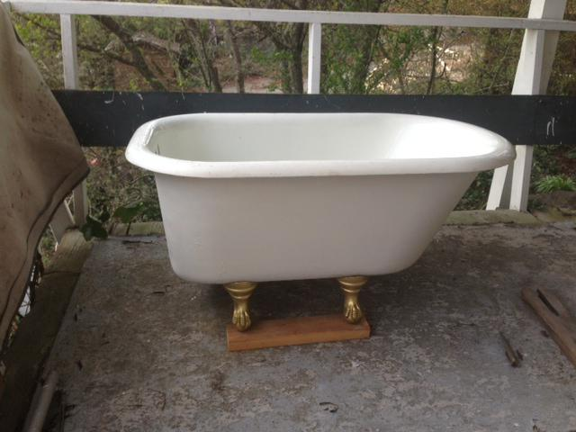 Mini Clawfoot Tub Victoria City Victoria Mobile