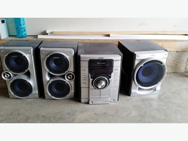sony home stereo. sony home stereo