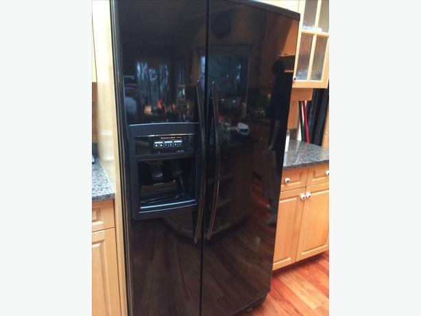 Kitchenaid Refrigerator Superba Matching Kitchenaid Superba Fridge And Gas  Stove Saanich, Victoria