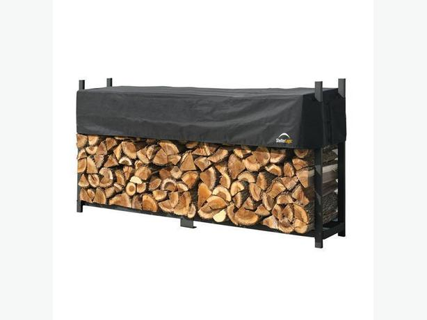 ShelterLogic -Firewood Racks & Accessories -Westcoast Custom Gates Ltd
